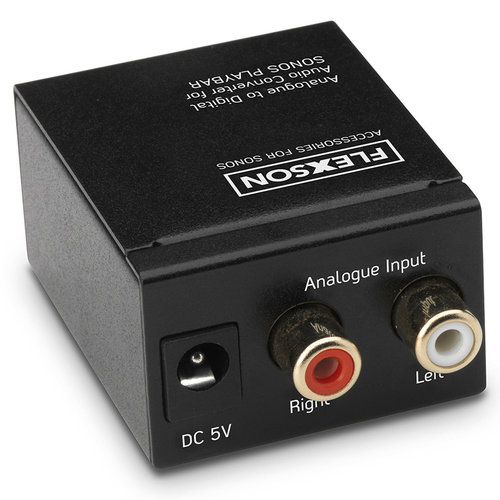 View Larger Image of Analogue to Digital Audio Converter for Sonos PLAYBAR and PLAYBASE