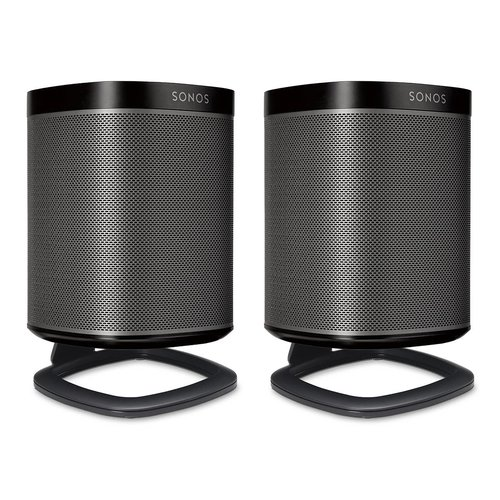 View Larger Image of Desk Stands for Sonos One Wireless Speakers - Pair