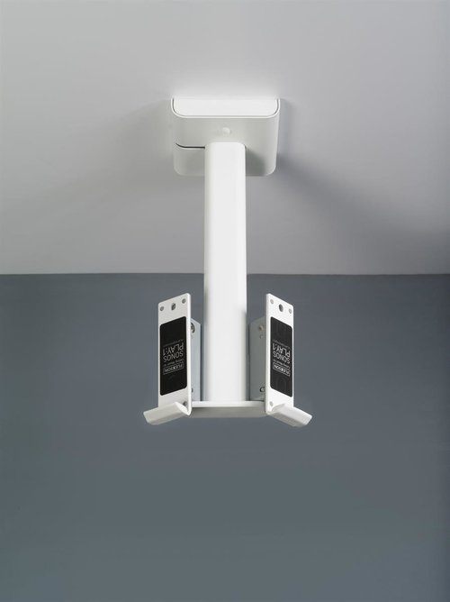 View Larger Image of Double Ceiling Mount for Pair of Sonos Play:1 Speakers (White)