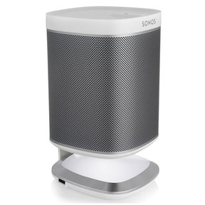 Illuminated Speaker Stand for Sonos Play:1 with USB Charger