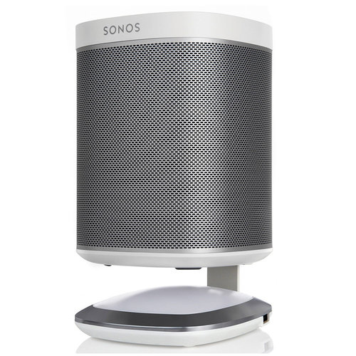 View Larger Image of Illuminated Speaker Stand for Sonos Play:1 with USB Charger