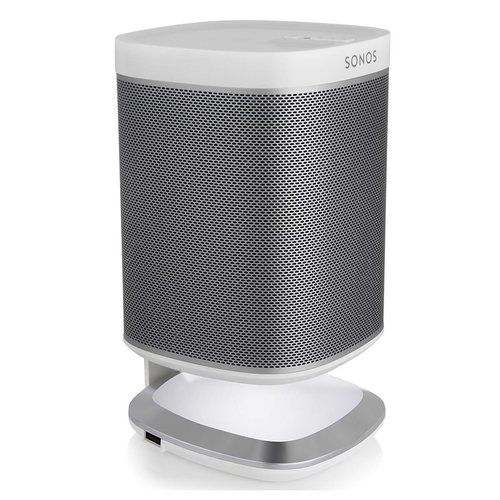 View Larger Image of Illuminated Speaker Stands for Sonos Play:1 with USB Charger - Pair
