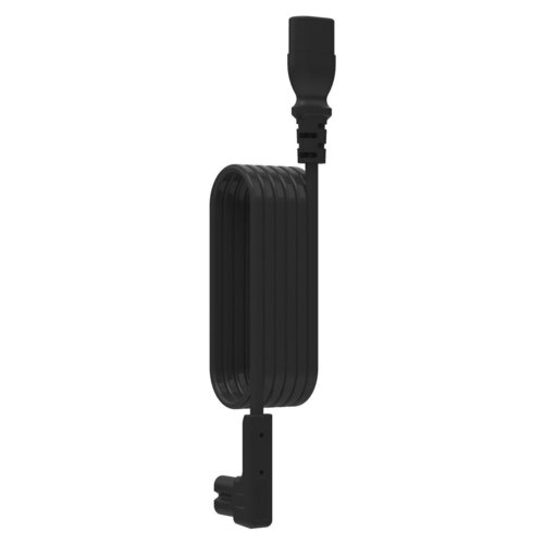 View Larger Image of Right-Angled Extension Cable for Sonos PLAY:1 - 1 meter (Black)