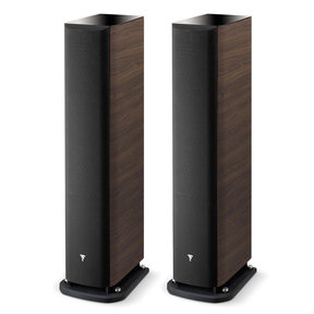 Aria 936 3-Way Bass-Reflex Floorstanding Speakers - Pair (Dark Walnut)