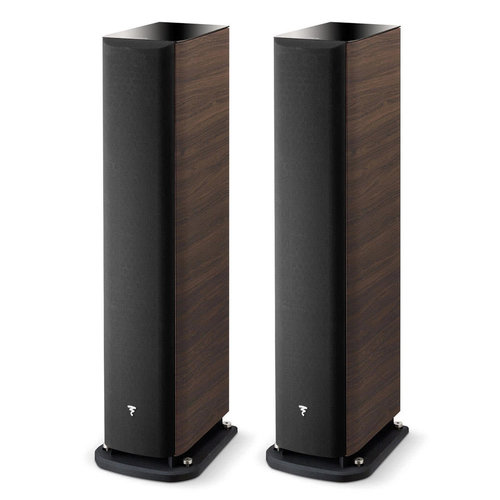 View Larger Image of Aria 936 3-Way Bass-Reflex Floorstanding Speakers - Pair (Dark Walnut)