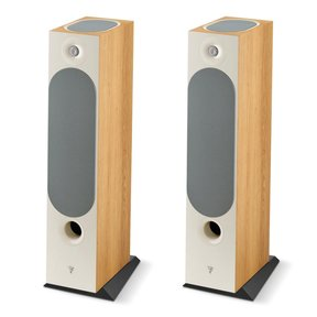Chora 826-D Floorstanding Speakers with Built-In Dolby Atmos Modules - Pair (Light Wood)