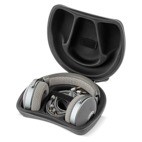 View Larger Image of CLEAR Open-Back Over-Ear High-Resolution Audiophile Headphones (Gray)