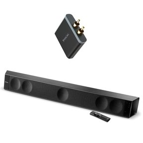 Dimension 5-Channel Soundbar with aptX Universal Wireless Receiver