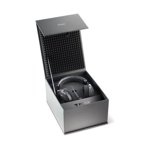 View Larger Image of Elear Open-Back Over-Ear Headphones (Black)