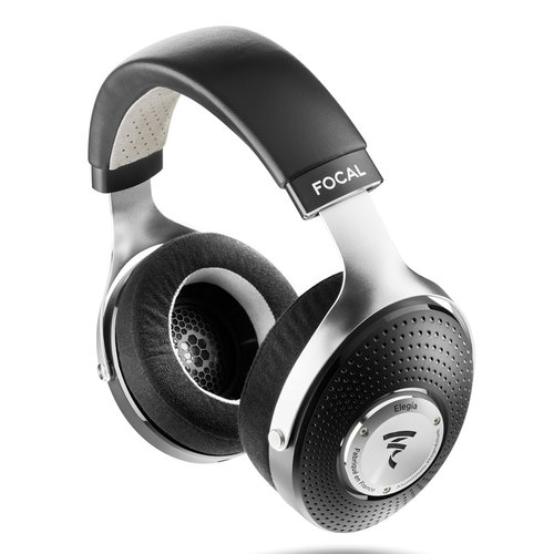 View Larger Image of Elegia Audiophile Circum-Aural Closed-Back Over-Ear Headphones (Black/Silver)