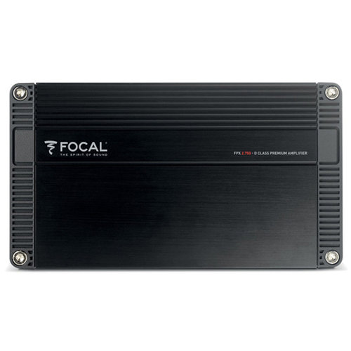 View Larger Image of FPX 2.750 220 Watts x 2 Compact 2-Channel Amplifier