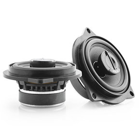"""IFBMW-C Plug and Play 4"""" 2-Way Coaxial Speaker Kit for Select BMW Models"""