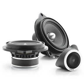"""IFBMW-S Plug and Play 4"""" 2-Way Component Speaker Kit for Select BMW Models"""