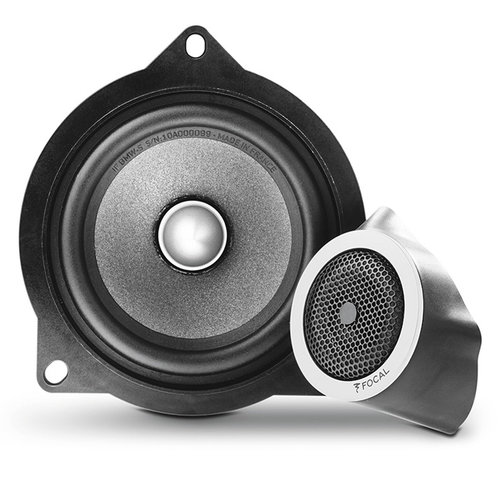 "View Larger Image of IFBMW-S Plug and Play 4"" 2-Way Component Speaker Kit for Select BMW Models"
