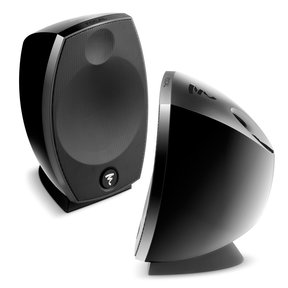 Sib Evo 2.0 2-Way Bass-Reflex Satellite Loudspeakers - Pair (Black)