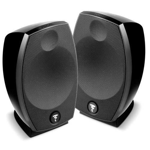 View Larger Image of Sib Evo 2.0 2-Way Bass-Reflex Satellite Loudspeakers - Pair (Black)