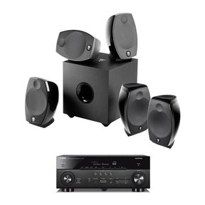 Sib Evo 5.1.2 Home Cinema System with Yamaha RX-A780 AV 7.2-Channel Receiver