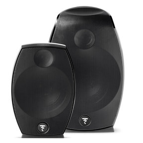 Sib Evo Dolby Atmos 2.0 Three-Way Bass-Reflex Satellite Loudspeakers - Pair (Black)