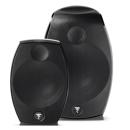 View Larger Image of Sib Evo Dolby Atmos 2.0 Three-Way Bass-Reflex Satellite Loudspeakers - Pair (Black)