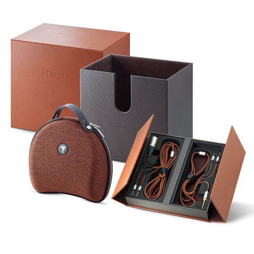 View Larger Image of Stellia Closed-Back Circum-Aural Over-Ear Headphones (Cognac)