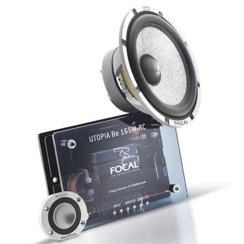 """View Larger Image of 165 W-RC Utopia Be 6-1/2"""" 2-Way Component Speakers"""