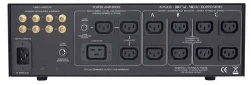 View Larger Image of IT-Reference 16E i 230v Balanced AC Power Source (Black/Silver)