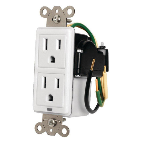 View Larger Image of MIW-SURGE-1G In-wall Surge Protector (White)