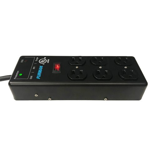View Larger Image of SS-6B-PRO Extreme Voltage Protect Surge Strip