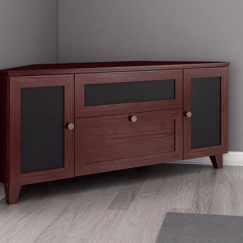 "View Larger Image of 61"" FT61SCCDC TV Stand Media Console (Dark Cherry)"