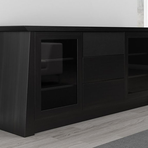"View Larger Image of 70"" Formoso TV Stand Media Console (Ebony)"