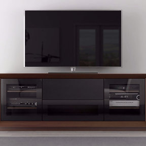 "70"" FT70CF TV Stand Media Console (Walnut)"