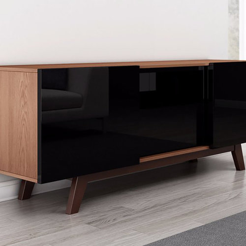 "View Larger Image of 70"" FT70RBL TV Stand Media Console (Brazilian Cherry)"