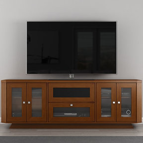 """70"""" FT71CRCLC TV Stand Media Console (Light Cherry)"""