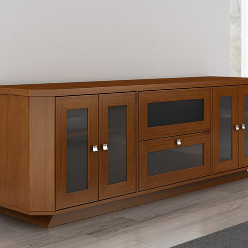 """View Larger Image of 70"""" FT71CRCLC TV Stand Media Console (Light Cherry)"""