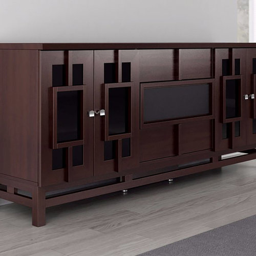 "View Larger Image of 70"" FT72ACW TV Stand Media Console (Asian Wenge)"