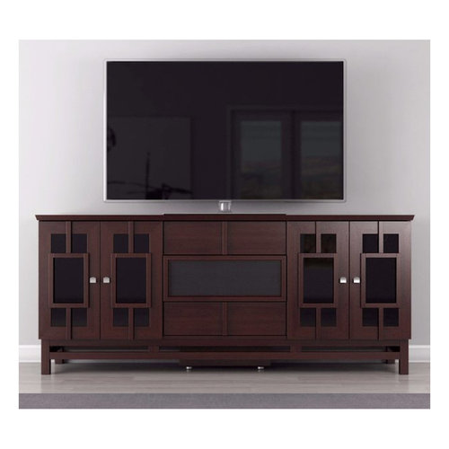 """View Larger Image of 70"""" FT72ACW TV Stand Media Console (Asian Wenge)"""
