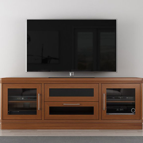 "View Larger Image of 70"" FT72TRLC TV Stand Media Console (Light Cherry)"