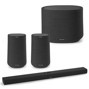 3.1 System with Citation Bar and Sub and (2) Citation 100 Speakers for Multi-Room Audio