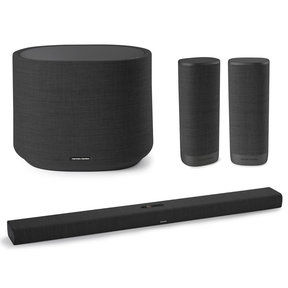 "Citation Bar Smart Soundbar with Google Assistant, Citation Surround Speakers and Citation Wireless 10"" Subwoofer"