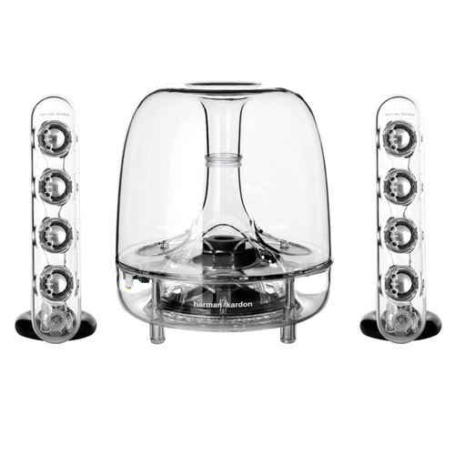 View Larger Image of SoundSticks III 2.1 Plug and Play Multimedia Speaker System