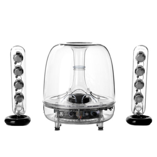View Larger Image of Soundsticks Wireless 2.1-Channel Multimedia Sound System