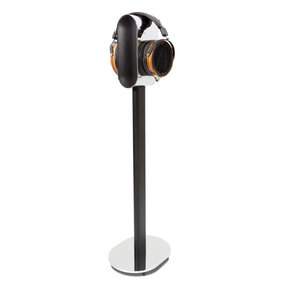Premium Floorstand for Headphones (Chrome)