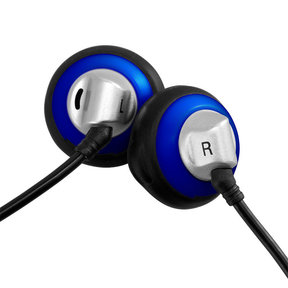 ES100 Vintage Style Earbud with 15mm Driver - Blue
