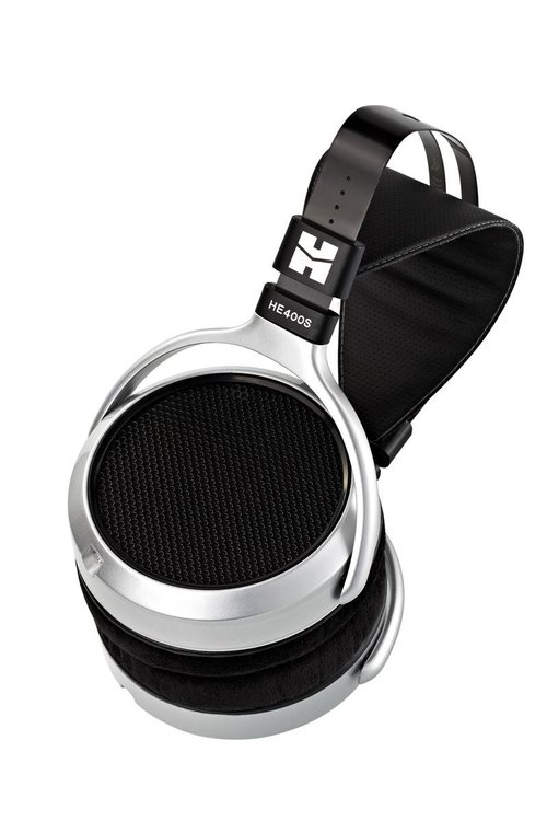 View Larger Image of HE-400S Planar Magnetic Headphones (Black/Silver)