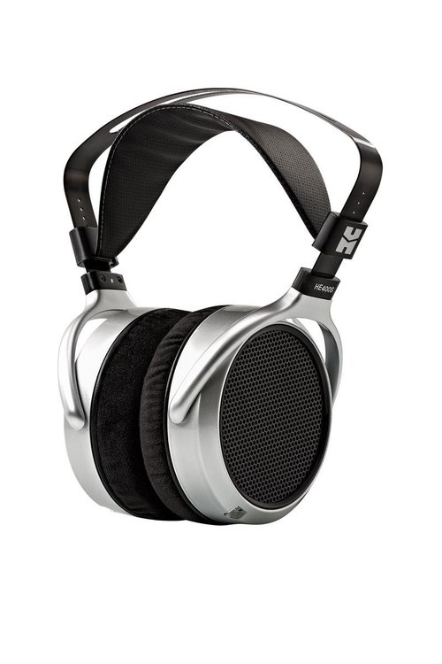 View Larger Image of HE-400S Planar Magnetic Over-Ear Headphones with Audioquest DragonFly Black USB DAC