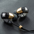 View Larger Image of RE2000 In-Ear Headphones (Gold/Black)