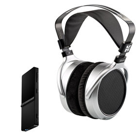 SuperMini High-Res Portable Player and HE-400S Planar Magnetic Headphones (Black/Silver)