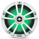 """View Larger Image of 822MLT 8"""" Marine 2-Way Coaxial Speakers in White Finish with RGB Lighting"""