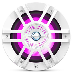 "Kappa 6120m 6-1/2"" 2-Way Marine Speakers w/ RGB Illumination - Pair (White)"