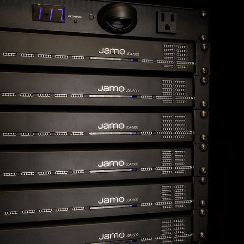 View Larger Image of JDA-500 4x4 500W DSP Amplifier
